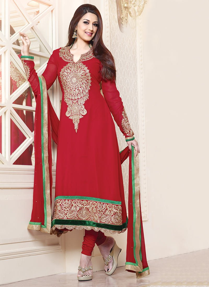 Latest Indian Ethnic Wear Dresses & Stylish Suits Formal Collection for Women (27)