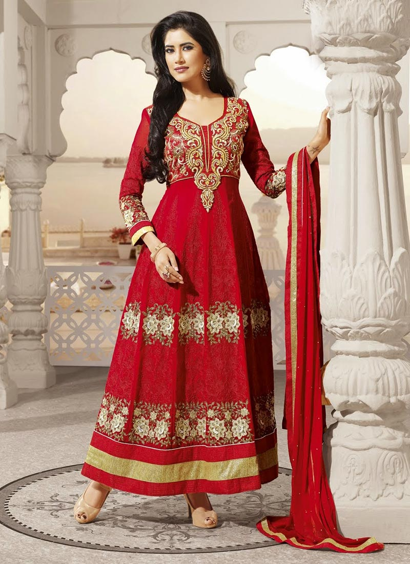 Latest Indian Ethnic Wear Dresses & Stylish Suits Formal Collection for Women  (5)