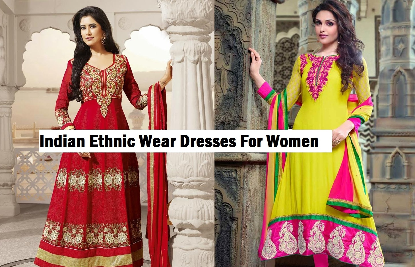 Indian women dress change colors