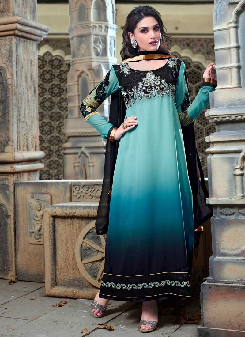 Latest Indian Ethnic Wear Dresses & Stylish Suits Formal Collection ...