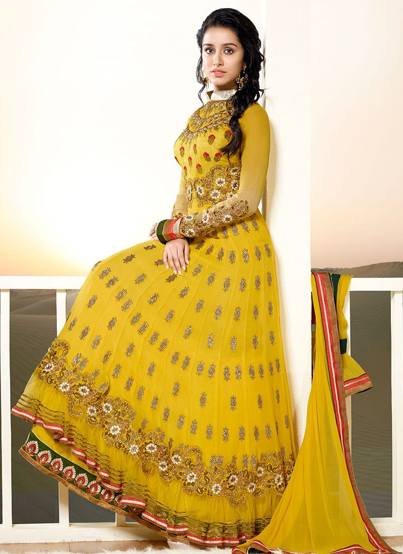 Latest Indian Ethnic Wear Dresses & Stylish Suits Formal Collection for Women  (7)