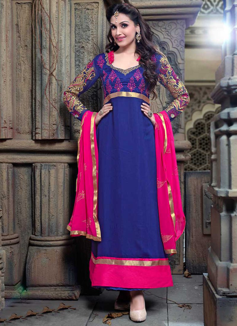 Latest Indian Ethnic Wear Dresses & Stylish Suits Formal Collection for Women  (9)