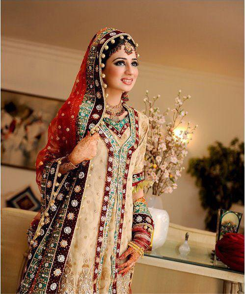 Latest Pakistani & Indian Best Wedding Dresses and Bridal Gowns for Women (18)