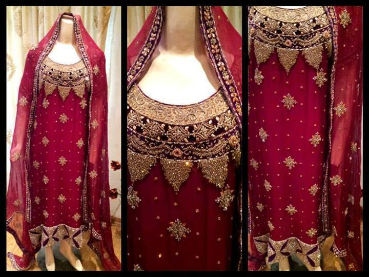 Latest Pakistani & Indian Best Wedding Dresses and Bridal Gowns for Women (36)