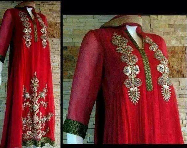 Latest Pakistani & Indian Best Wedding Dresses and Bridal Gowns for Women (44)