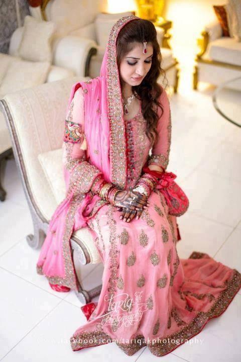 Indian Pink Bridesmaid Dresses