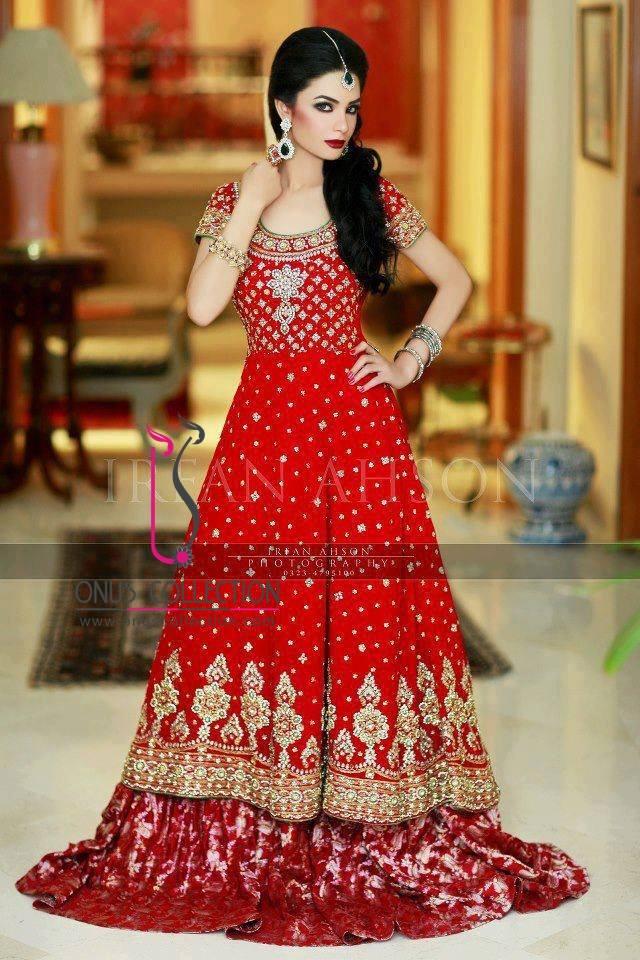 Latest Pakistani & Indian Best Wedding Dresses and Bridal Gowns for Women (52)