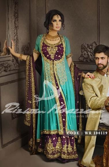 Latest Pakistani & Indian Best Wedding Dresses and Bridal Gowns for Women (60)