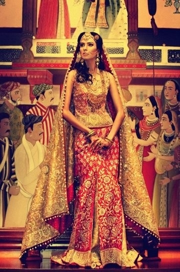 Latest Pakistani & Indian Best Wedding Dresses and Bridal Gowns for Women (63)