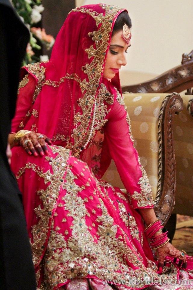 Latest Pakistani & Indian Wedding Dresses 2016-17 Collection