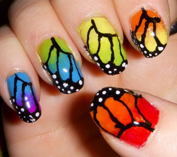 Latest & Stylish Nail Art Designs & Manicure Ideas for Girls (10)