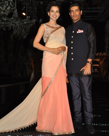 Manish Malhotra Latest Collection of Fancy and Embroidered Saree Designs for Women12)