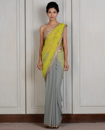 Manish Malhotra Latest Collection of Fancy and Embroidered Saree Designs for Women13)