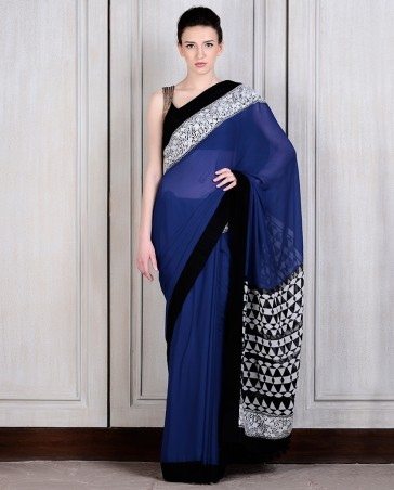 Manish Malhotra Latest Collection of Fancy and Embroidered Saree Designs for Women (19)