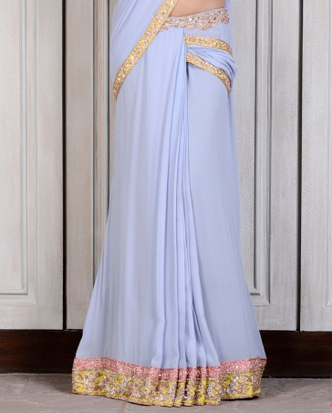 Manish Malhotra Latest Collection of Fancy and Embroidered Saree Designs for Women (22)