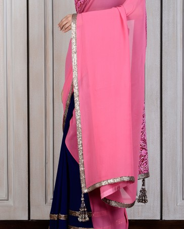 Manish Malhotra Latest Collection of Fancy and Embroidered Saree Designs for Women(24)