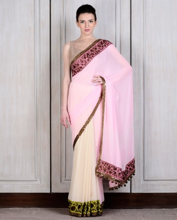 Manish Malhotra Latest Collection of Fancy and Embroidered Saree Designs for Women (25)