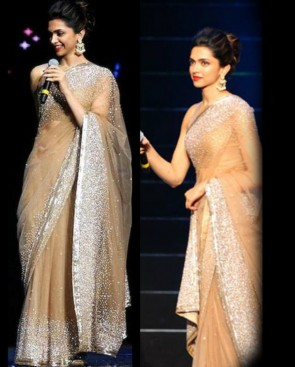 Manish Malhotra Latest Collection of Fancy and Embroidered Saree Designs for Women (32)