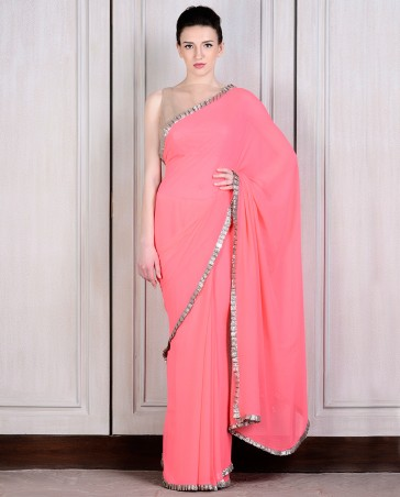 Manish Malhotra Latest Collection of Fancy and Embroidered Saree Designs for Women(33)