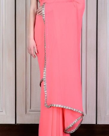 Manish Malhotra Latest Collection of Fancy and Embroidered Saree Designs for Women (34)