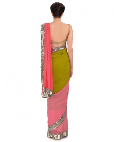 Manish Malhotra Latest Collection of Fancy and Embroidered Saree Designs for Women (4)