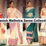 Manish Malhotra Latest Collection of Fancy and Embroidered Saree Designs for Women