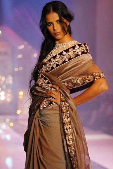 Manish Malhotra Latest Collection of Fancy and Embroidered Saree Designs for Women@stylesgap.com (5)