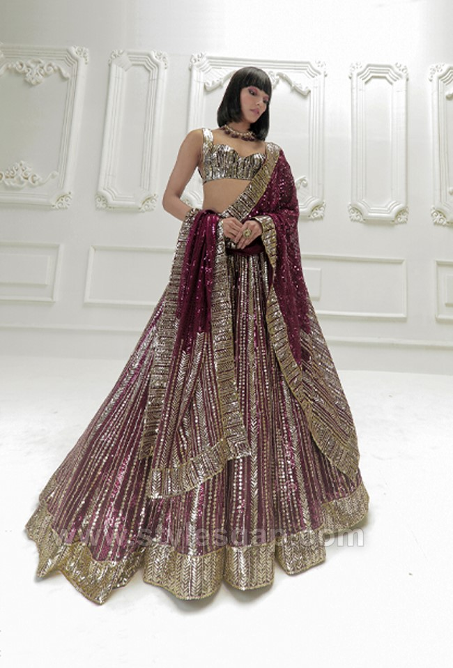Stylish Crop Tops Skirts & Lehengas