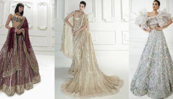 Manish Malhotra Stylish Crop Tops Skirts & Lehengas Collection 2020
