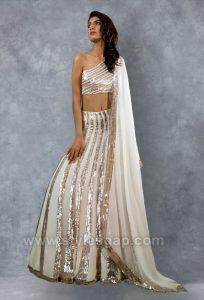 Manish Malhotra Stylish Crop Tops Skirts & Lehengas