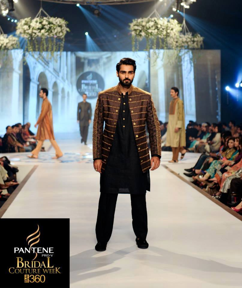 Latest Fashion Men Wedding Dresses & Sherwani Designs Collection by Amir Adnan (10)
