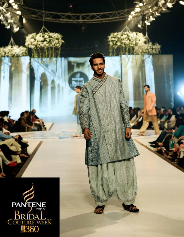 Latest Fashion Men Wedding Dresses & Sherwani Designs Collection by Amir Adnan (11)