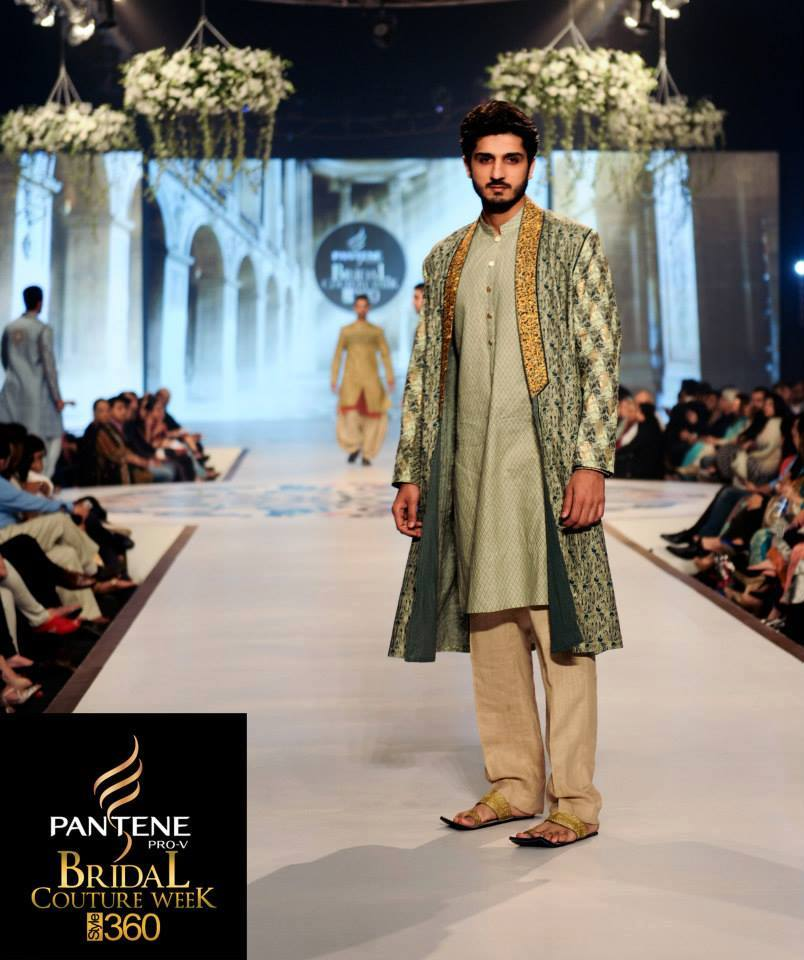 Latest Fashion Men Wedding Dresses & Sherwani Designs Collection by Amir Adnan (12)