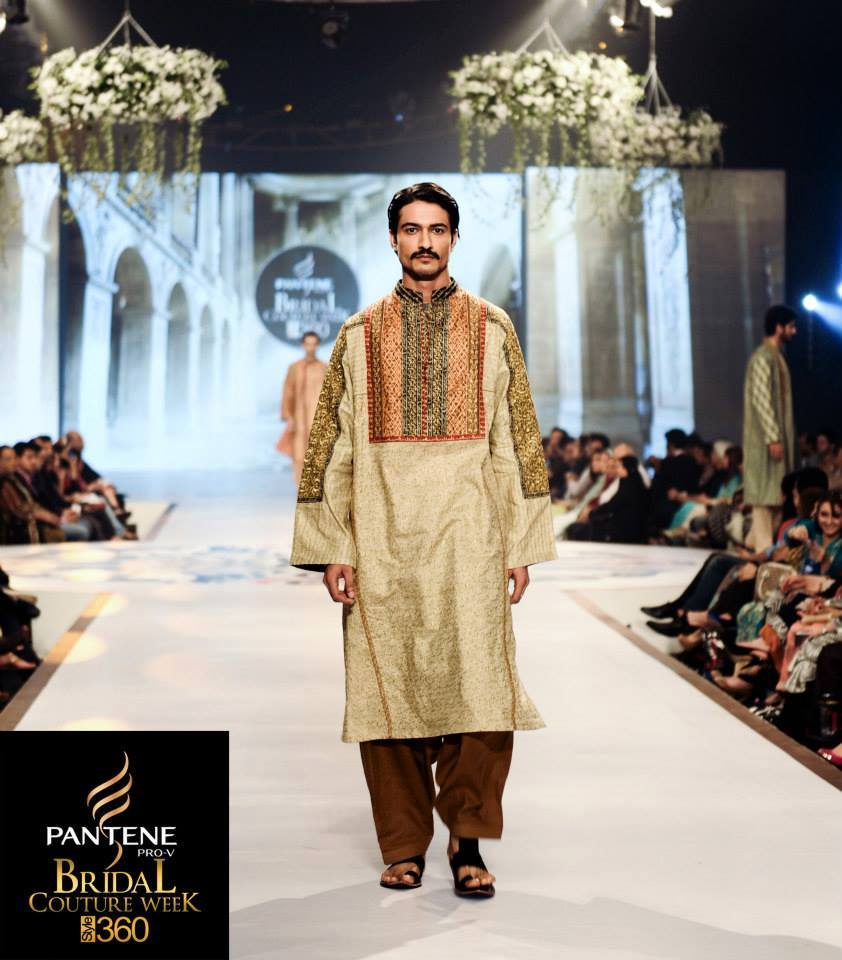 Latest Fashion Men Wedding Dresses & Sherwani Designs Collection by Amir Adnan(13)