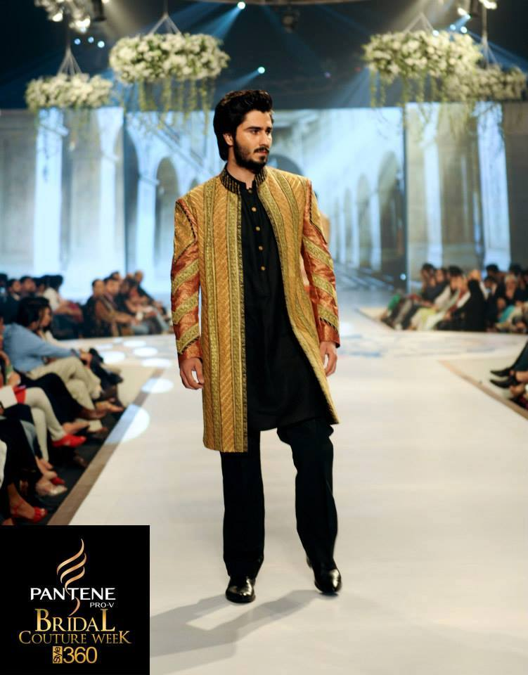 Latest Fashion Men Wedding Dresses & Sherwani Designs Collection by Amir Adnan(14)