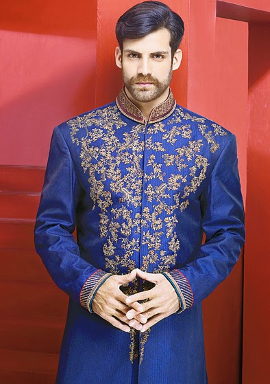 Latest Fashion Men Wedding Dresses & Sherwani Designs Collection by Amir Adnan (17)