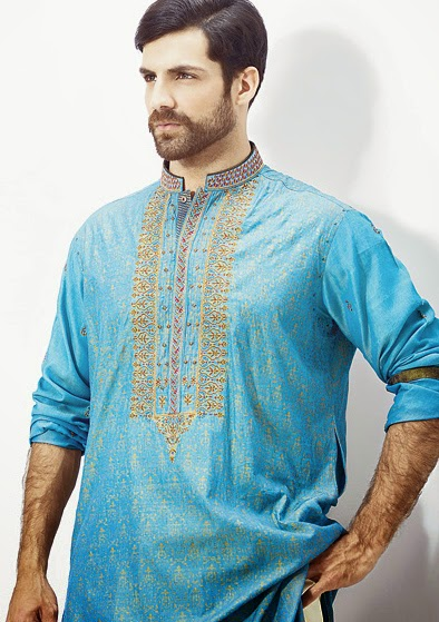 Latest Fashion Men Wedding Dresses & Sherwani Designs Collection by Amir Adnan (19)