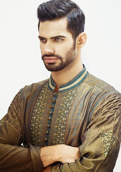 Latest Fashion Men Wedding Dresses & Sherwani Designs Collection by Amir Adnan (20)