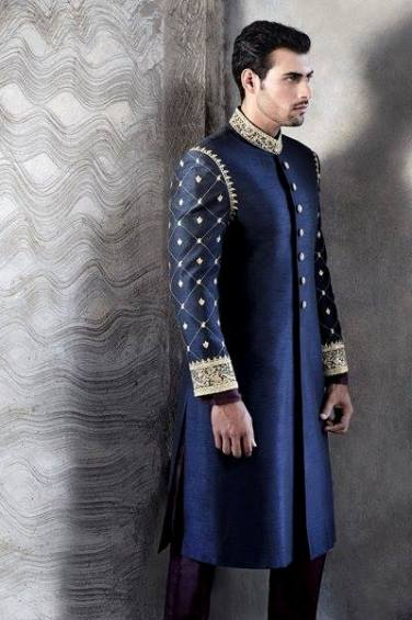 Latest Fashion Men Wedding Dresses & Sherwani Designs Collection by Amir Adnan (21)