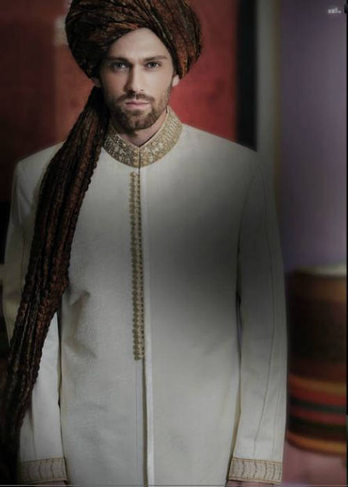 Latest Fashion Men Wedding Dresses & Sherwani Designs Collection by Amir Adnan (27)