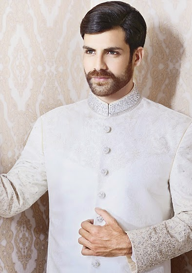 Latest Fashion Men Wedding Dresses & Sherwani Designs Collection by Amir Adnan (29)