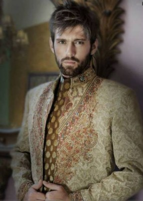 Latest Fashion Men Wedding Dresses & Sherwani Designs Collection by Amir Adnan(3)