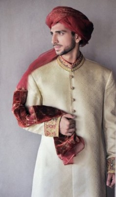 Latest Fashion Men Wedding Dresses & Sherwani Designs Collection by Amir Adnan (4)