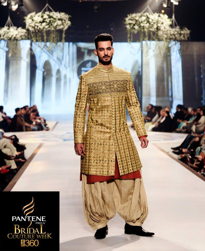 Latest Fashion Men Wedding Dresses & Sherwani Designs Collection by Amir Adnan (9)