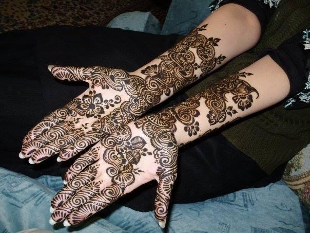 Mehndi Henna Wedding : Latest stylish mehndi designs for weddings parties