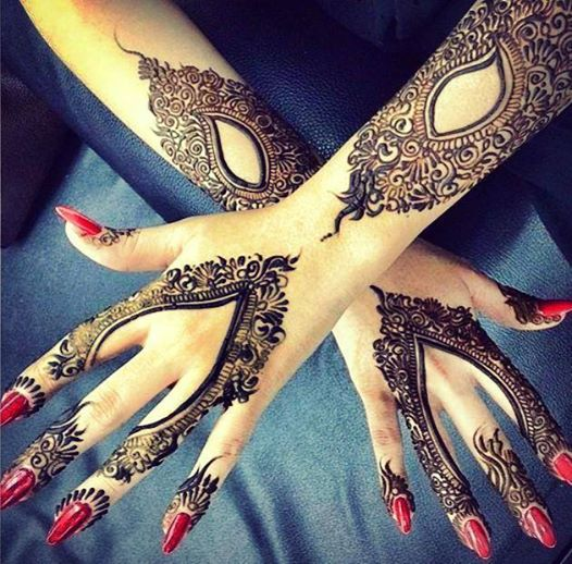 New Stylish & Perfect Mehndihenna Designs Collection Easy to Try for weddings and parties@stylesgap (4)