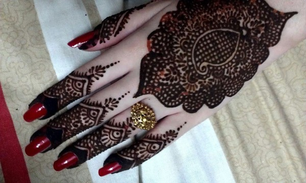 New Stylish & Perfect Mehndihenna Designs Collection Easy to Try for weddings and parties@stylesgap (5)