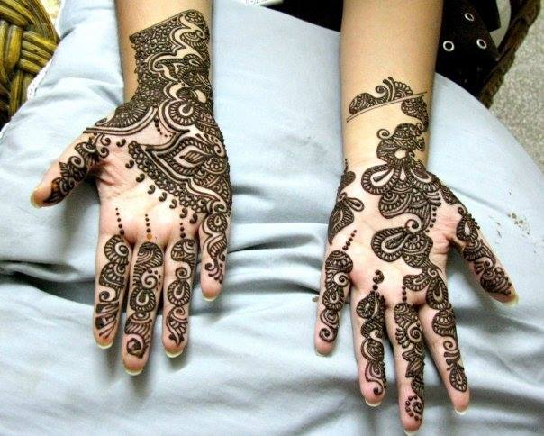 New Stylish & Perfect Mehndihenna Designs Collection Easy to Try for weddings and parties@stylesgap (9)