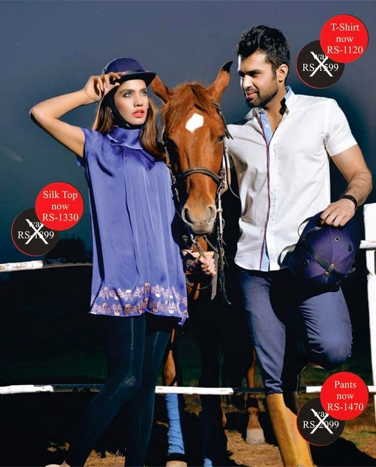 Riverstone Latest Western Fashion Casual Dresses Collection for Boys and Girls 2014-2015 (15)