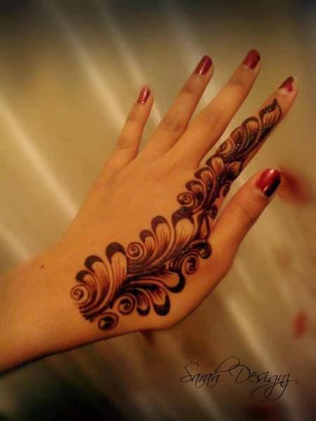 Stylish Unique Mehndi Designs: Latest Stylish Mehndi Designs For Weddings & Parties 2017-18
